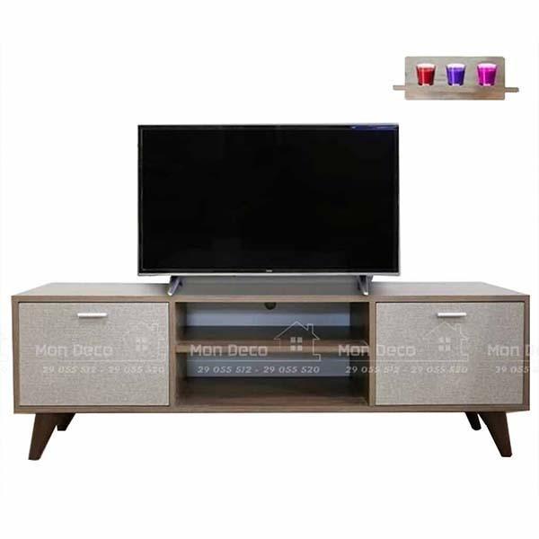 Meuble Tv GENOVA - marron - 138*45*35
